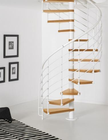 Escaleras de caracol la mejor soluci n para espacios for Escaleras modernas para espacios pequenos